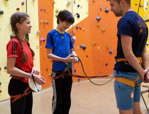 Neuer Kinder-Kletter-Club am Dienstag