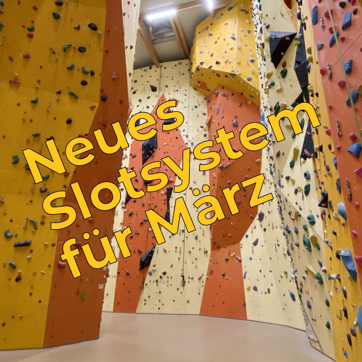 Kletterslot für März